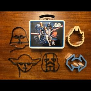 Star Wars Lot - pancake molds and cookie cutters